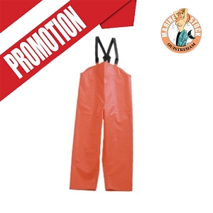 PANTALON CIRE * FISHERMENS ORANGE S