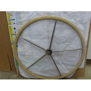 BARRE A ROUE D.810MM   GAINE CUIR